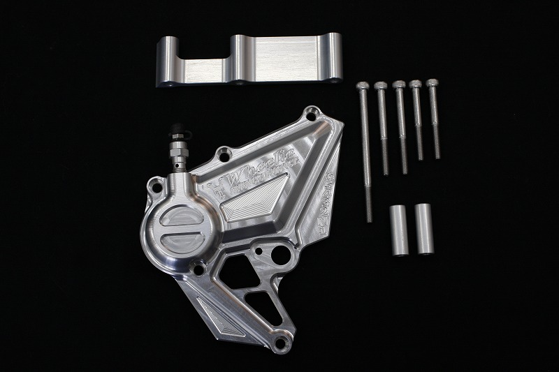 ZRX1200DAEG 油圧クラッチシリンダー (シルバーアルマイト、ブラックアルマイト)