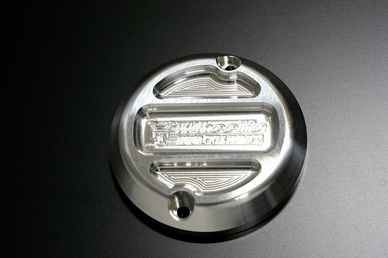 XJR1200/1300 クランクケースカバー (バフ、シルバーアルマイト)