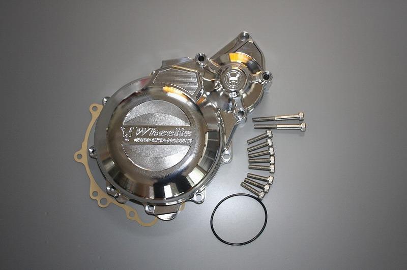 CB1300SF('03~)、X4用ACGカバー (バフ、シルバーアルマイト)