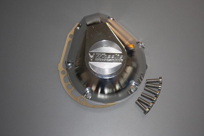CB1300('03~)パルスカバー (バフ、シルバーアルマイト)