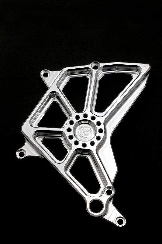 ゼファー750 スプロケットカバー(バフ、シルバーアルマイト、ブラックアルマイト)