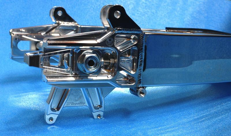 ハイトコントロールHC-5HI スイングアーム&チェーン引き