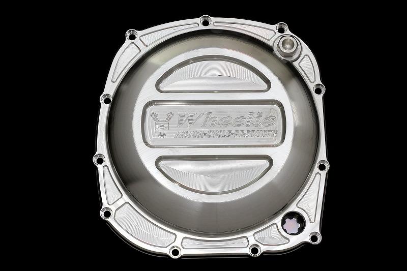 XJR1200/1300 クラッチカバー(タイプR) (バフ)
