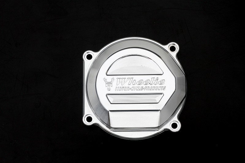 XJR1200/1300 NEWパルサーカバー (バフ、シルバーアルマイト)