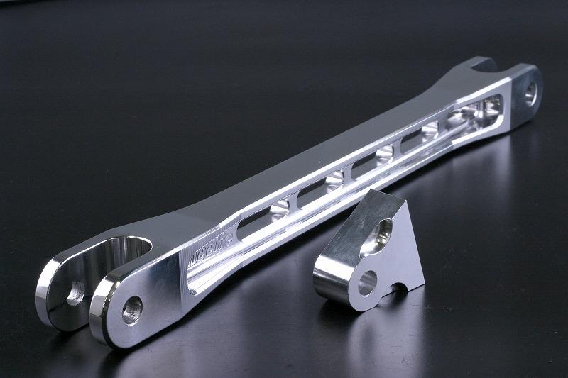 ZRX1200/ZRX1200DAEG専用ビレットトルクロッド  (ウイリーのスイングアームのみ取付可能) (バフ、シルバーアルマイト)