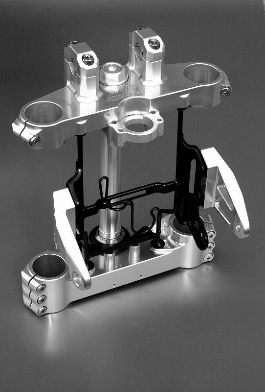 CB1300SF('03~) トリプルツリー(STDオフセット35mm) (バフ、シルバーアルマイト、ブラックアルマイトは別途料金)