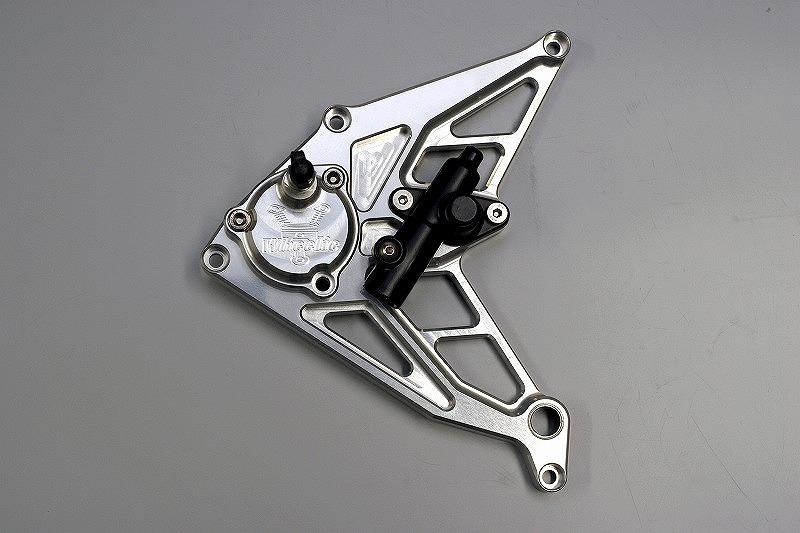 ゼファー1100専用ケーブル式スピードメーター対応 油圧クラッチシリンダー (シルバーアルマイト、ブラックアルマイト)