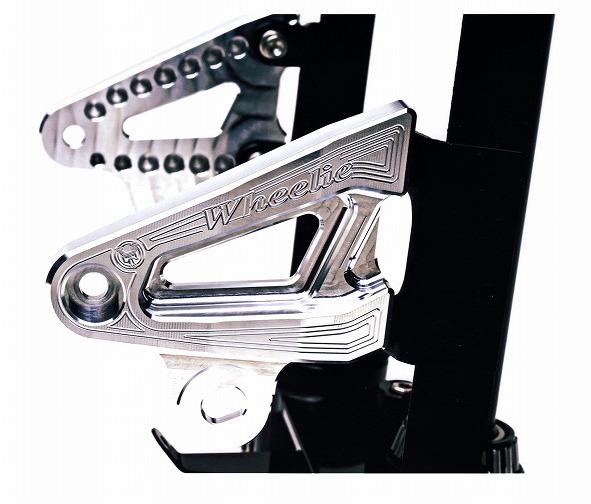 GSX1400 ビレットライトステー(バフ、シルバーアルマイト)
